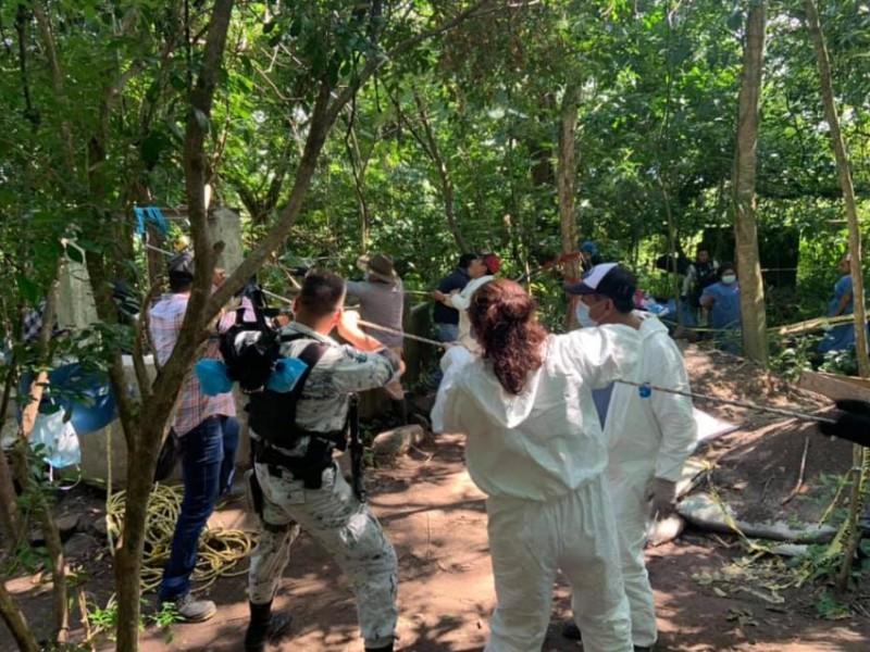 En Omealca recuperan 20 cuerpos de desaparecidos de pozo artesiano