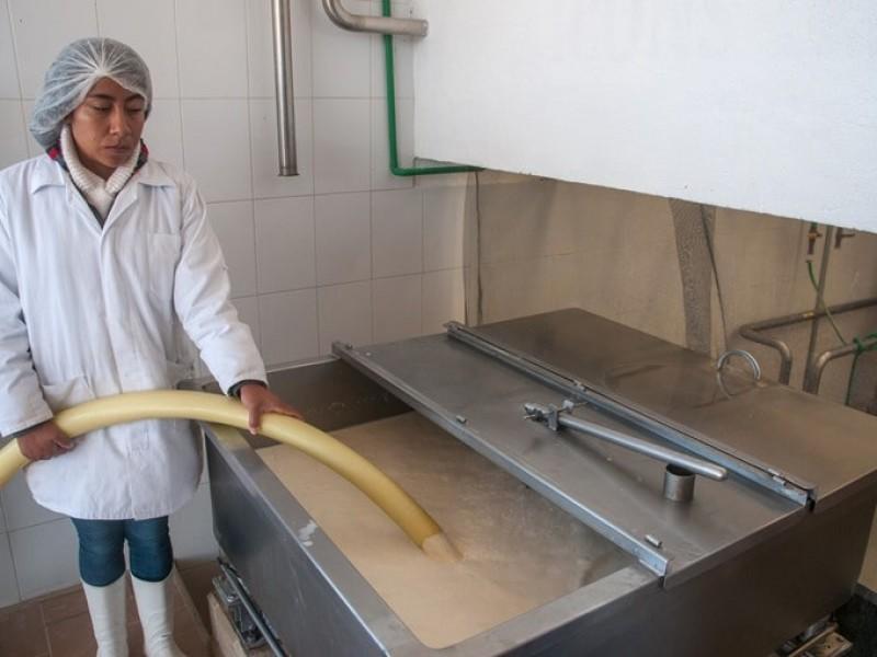 En operación centro de acopio de leche