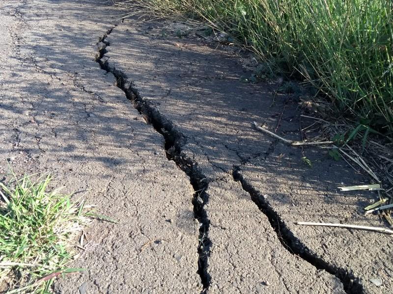 En pésimas condiciones camino sacacosechas en Zamora
