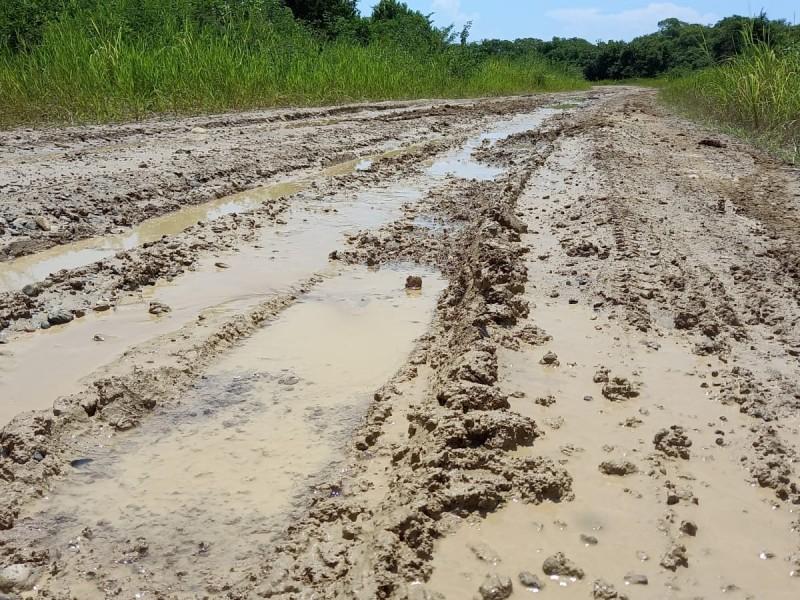 En pésimas condiciones, el acceso a Tumilco