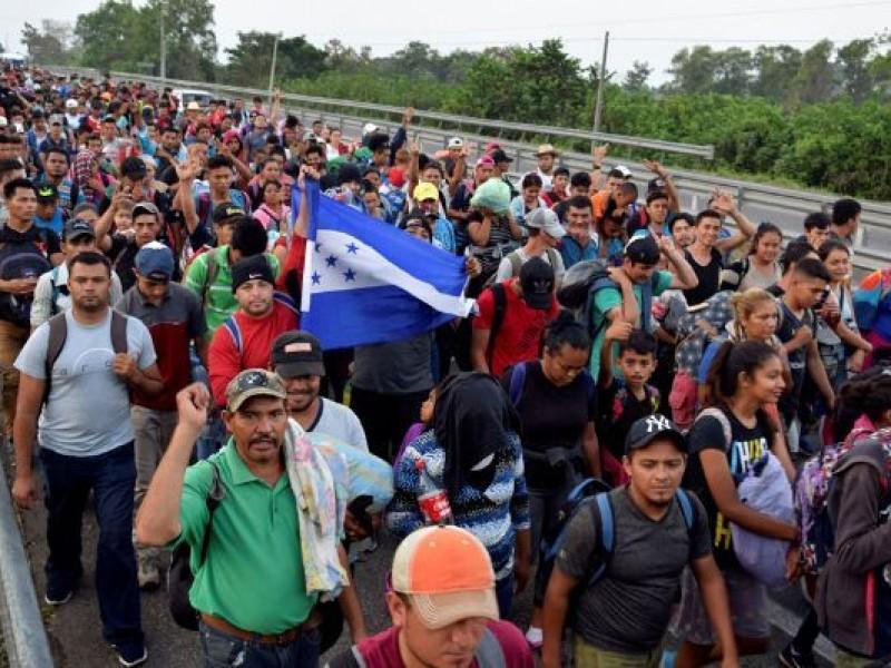 En plena pandemia, alistan nueva caravana migrante