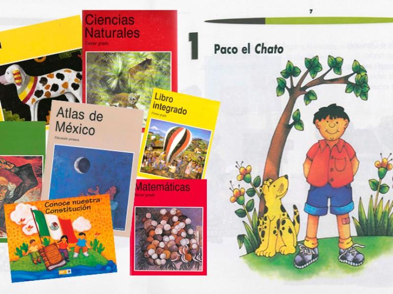En primeras semanas de septiembre entregarán libros de texto gratuito