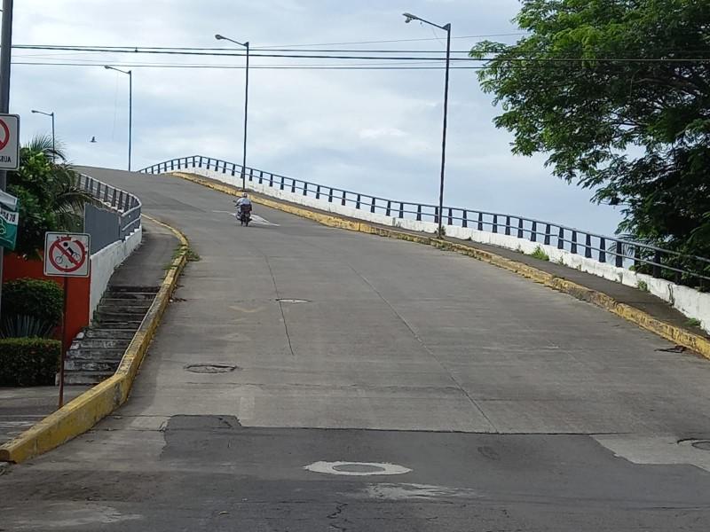 En próximos días entregarán peritaje del puente chueco