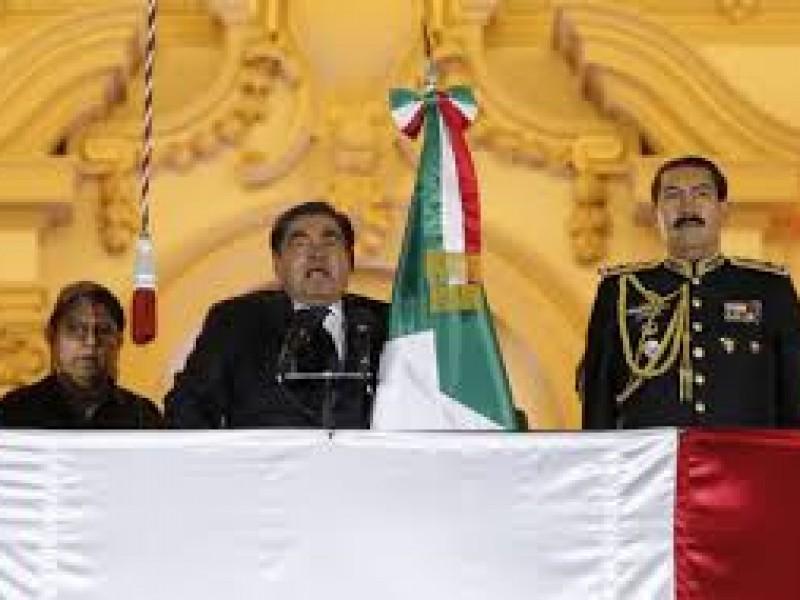 En Puebla si celebran el grito de independencia