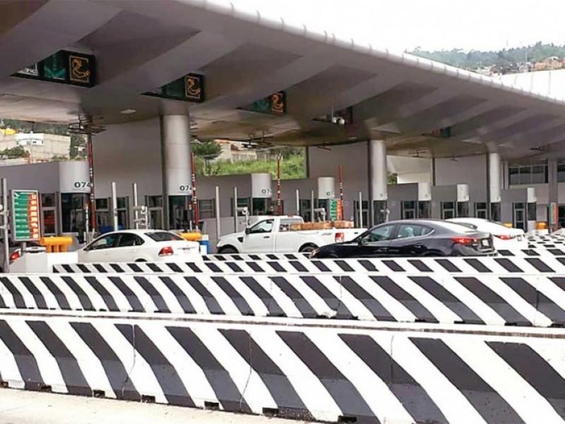 En puente vacacional, aumenta tarifa de casetas