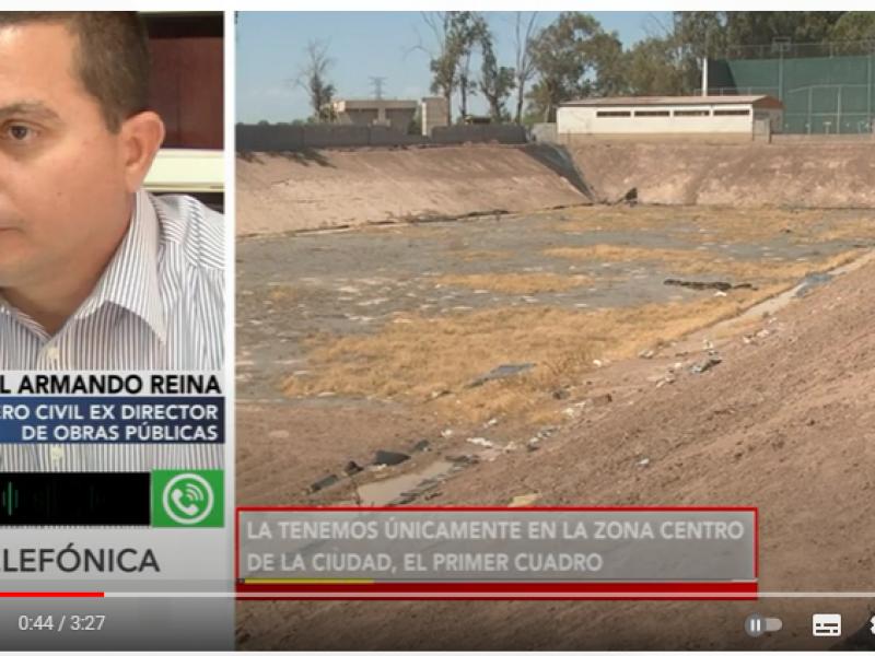 En reportaje especial: Drenaje pluvial en San Luis Río Colorado