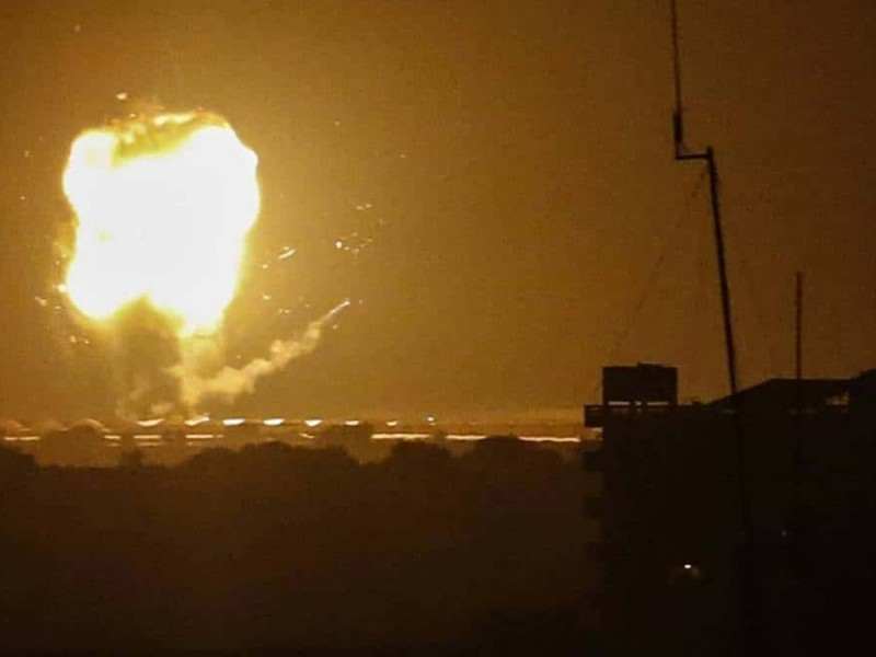 En respuesta a un misil, Israel bombardea objetivos en Siria