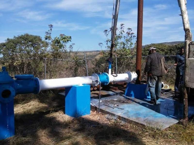 En riesgo pozos de agua por sequía inminente