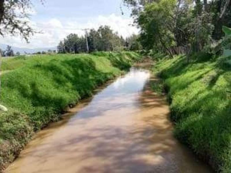 En riesgo producción agrícola regional, por contaminación de principales afluentes