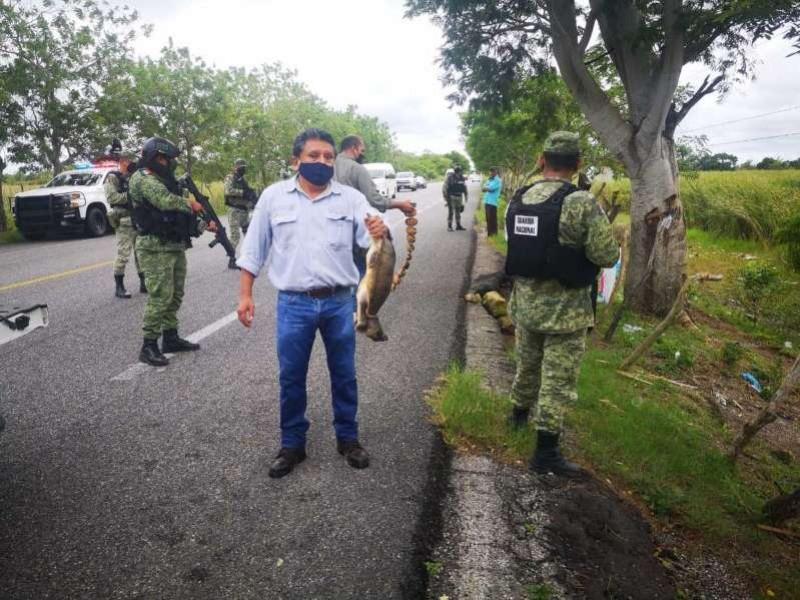 En Tabasco PROFEPA rescata 42 ejemplares de tortugas