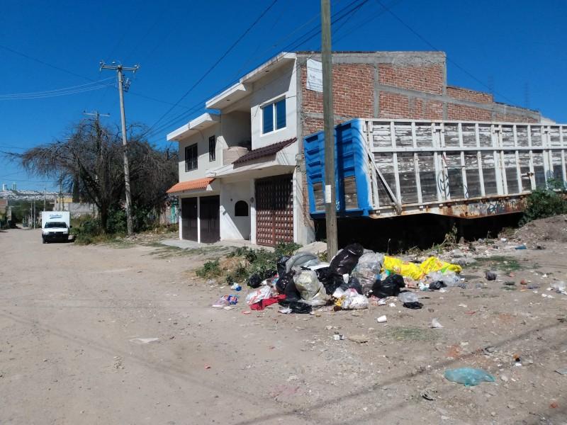 En Valle Hermoso la basura se volvió un problema