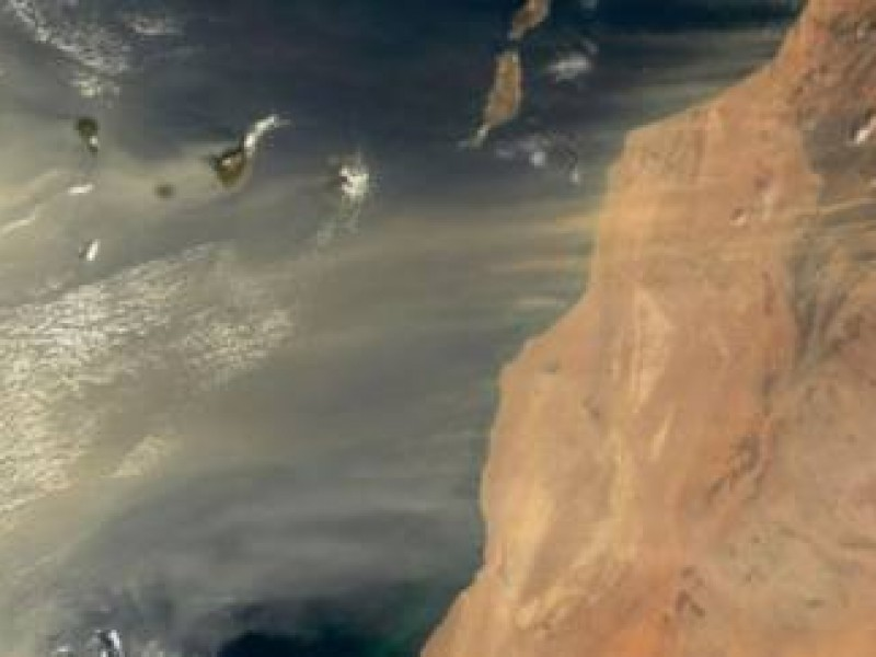 En Veracruz se observará poco el polvo del Sahara