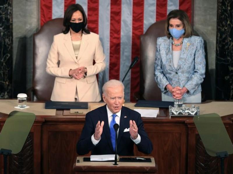 Joe Biden da mensaje a 100 días de gobierno
