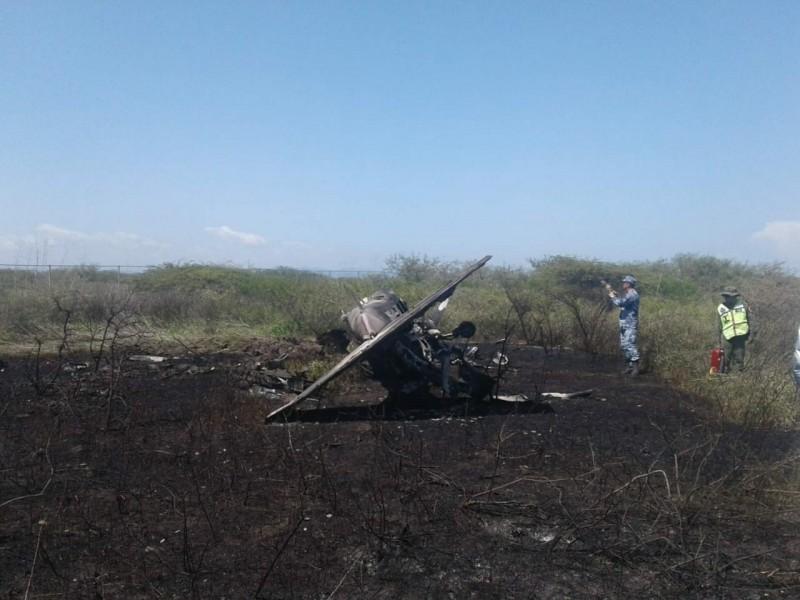 En vuelo de adiestramiento se accidenta aeronave: SEDENA