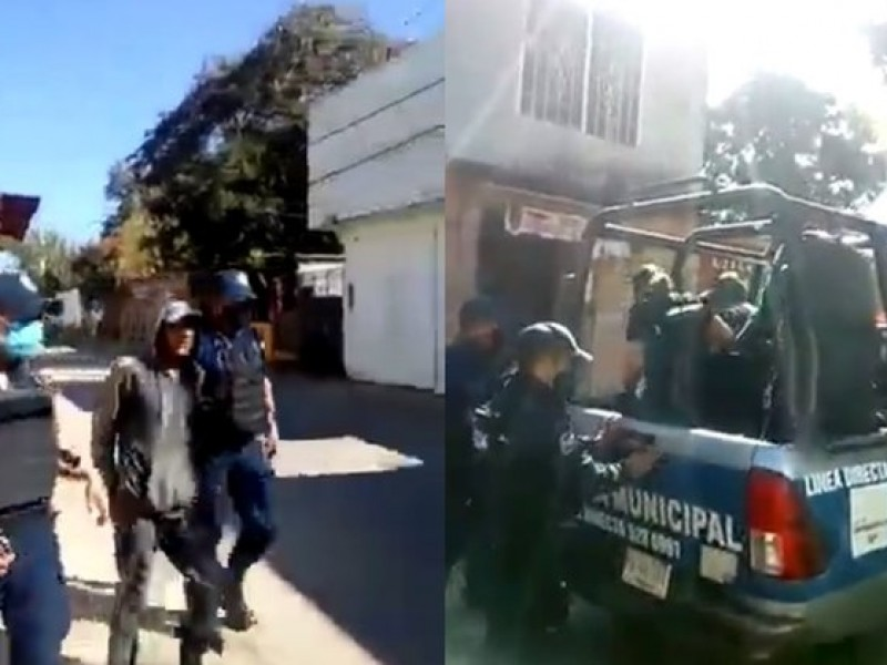 En Zaachila, arrestan a ciudadanos que se niegan usar cubrebocas
