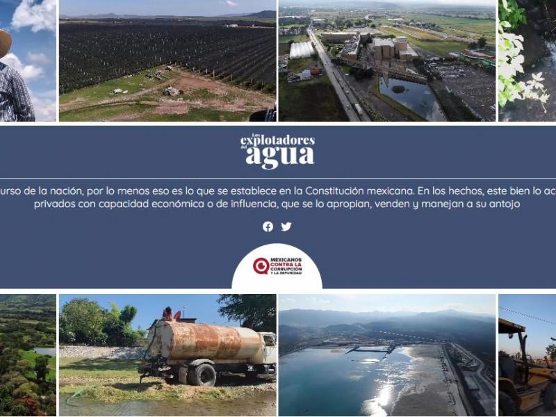 Encabeza Jalisco en títulos de explotación de agua