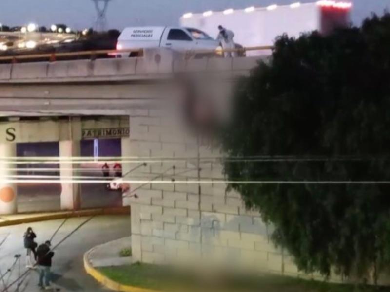 Encuentran 6 cuerpos colgados en puente de Zacatecas
