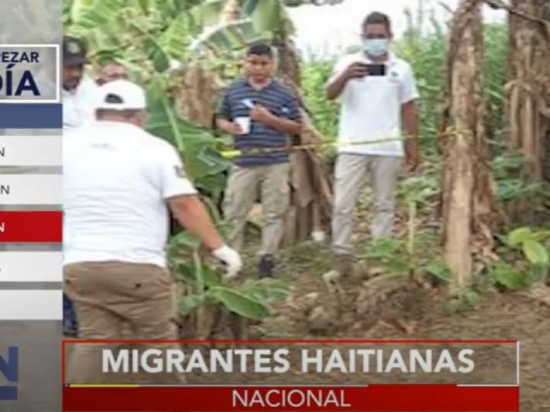 Encuentran a migrantes haitianas asesinadas en Chiapas