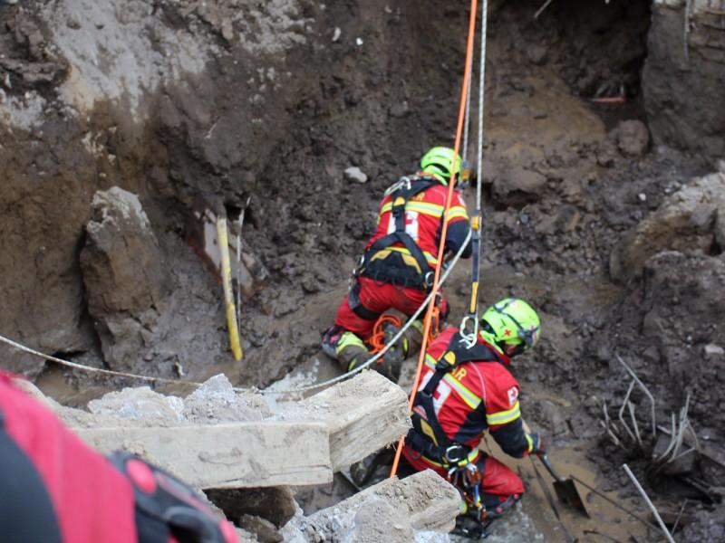 Encuentran al último trabajador sepultado en obra de San Martin