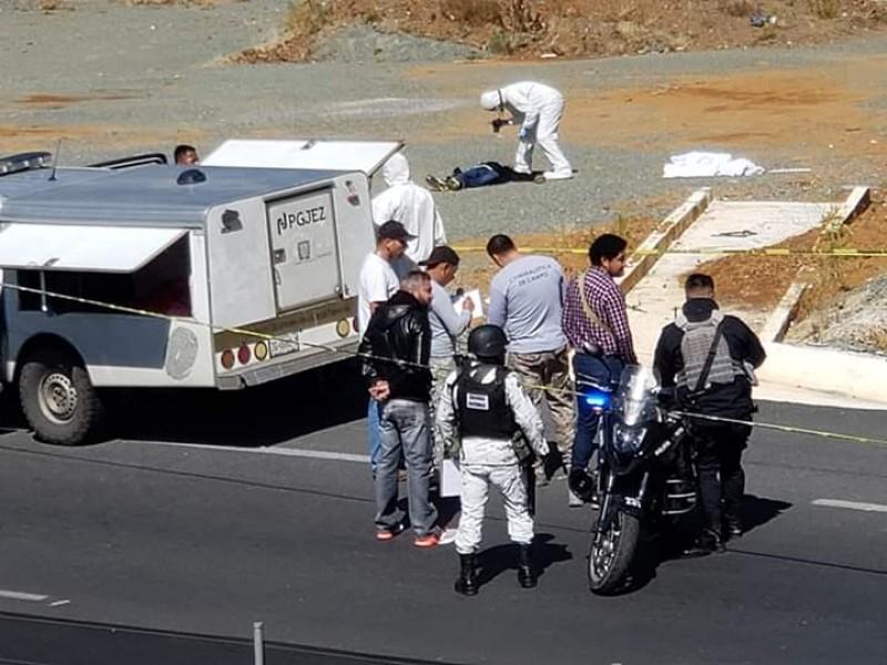 Encuentran cadáver cerca de Vialidad Manuel Felguérez