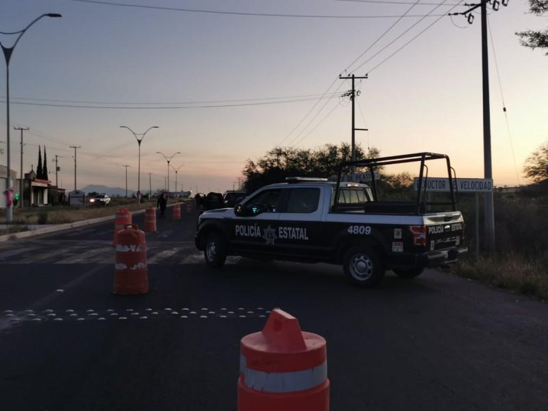 Encuentran cuerpo de un hombre sin vida en carretera Coroneo