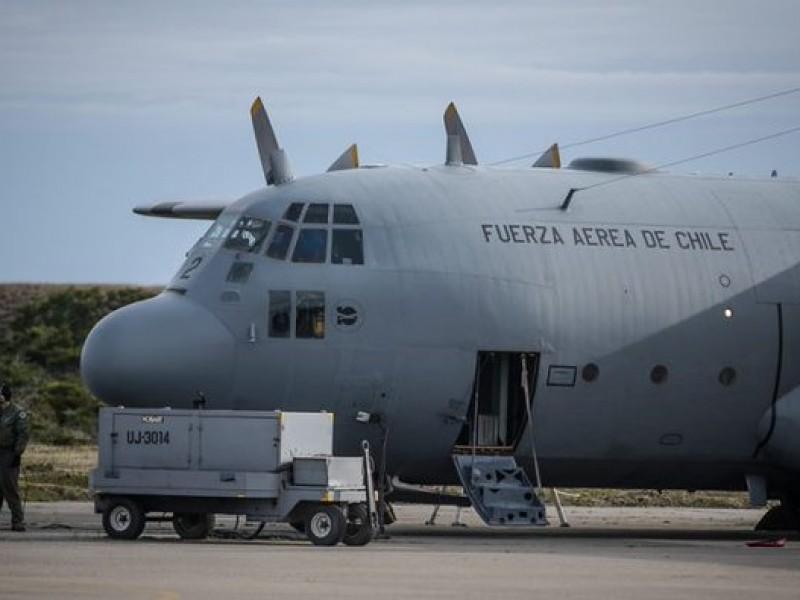 Encuentran posibles restos de aeronave chilena