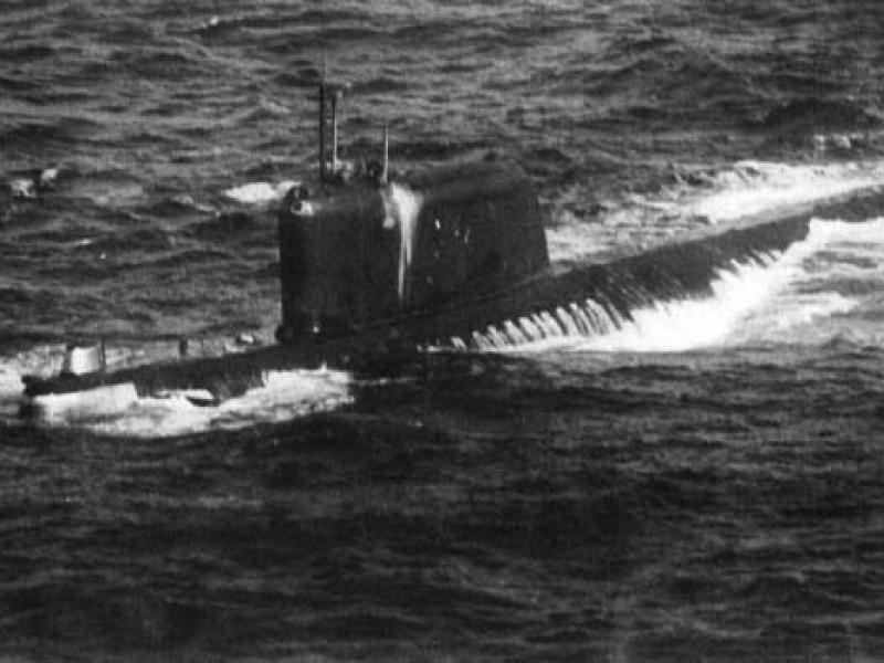 Encuentran reactor nuclear de submarino soviético K-19