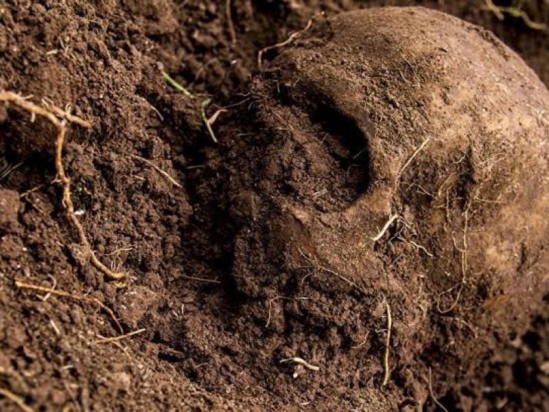 Encuentran restos humanos en Caleras