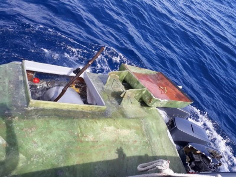 Encuentran submarino con cocaína