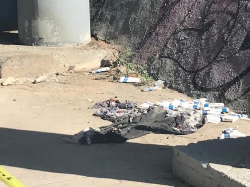 Encuentran tiradas pruebas COVID en Boulevard Forjadores
