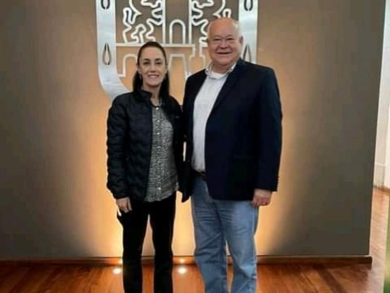 Encuentro Castro Cosio - Sheinbaum Pardo