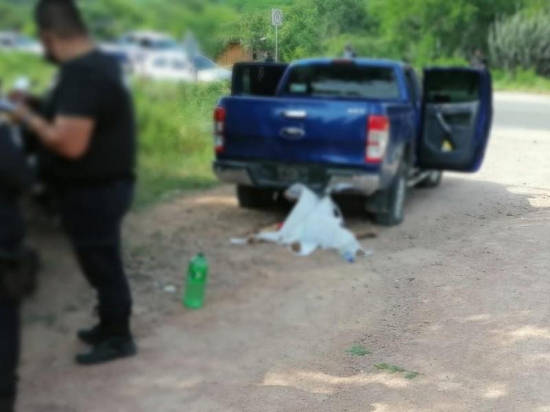 Enfrentamiento a balazos en Cintalapa deja 1 muerto