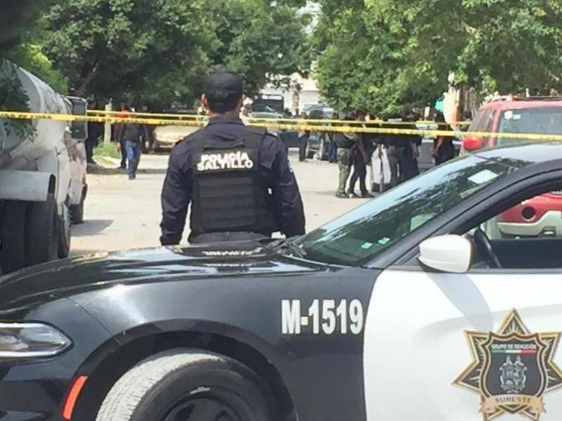 Enfrentamiento armado en Saltillo deja 9 muertos