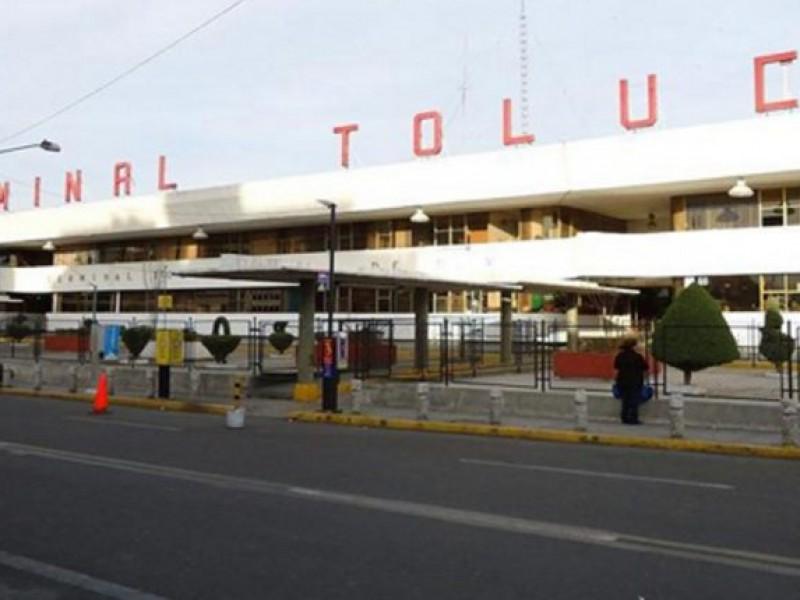 Enfrentamiento deja heridos en Terminal de Autobuses de Toluca