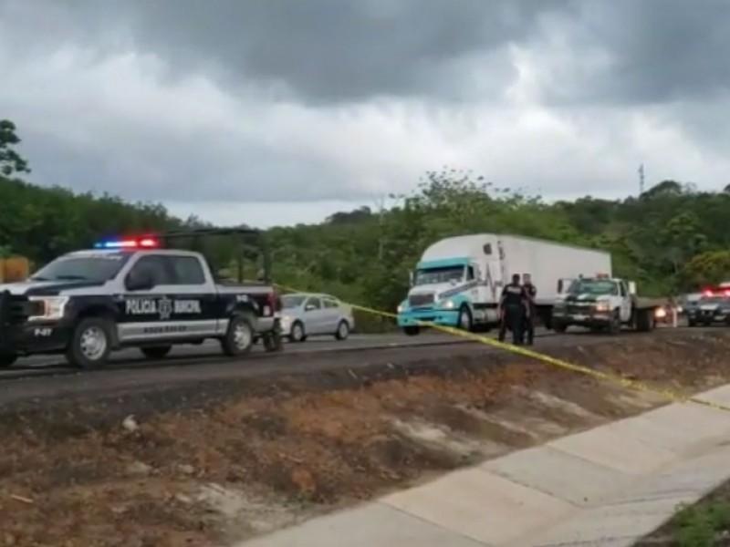 Enfrentamiento deja una migrante muerta y dos heridos