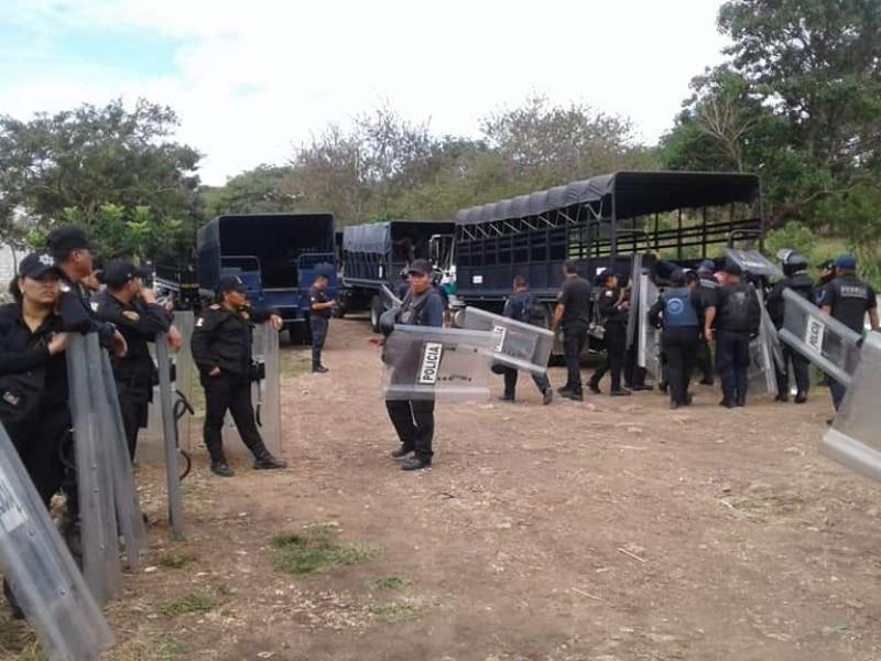 Enfrentamiento en Berriozábal