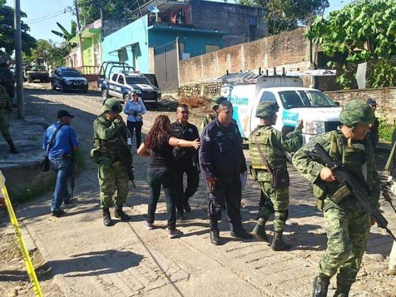 Enfrentamiento en Tapachula entre presuntos delincuentes y policías