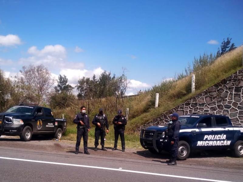 Enfrentamiento en Tiamba, Uruapan, deja un muerto