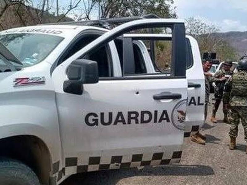 Enfrentamiento en Tierra Caliente deja lesionados a elementos de GN