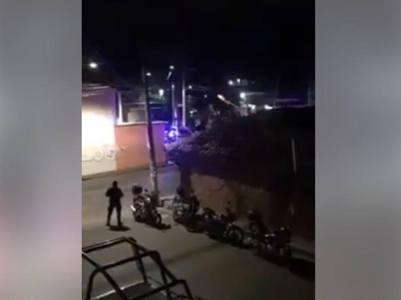 Enfrentamiento entre montonetos y policías en SCLC
