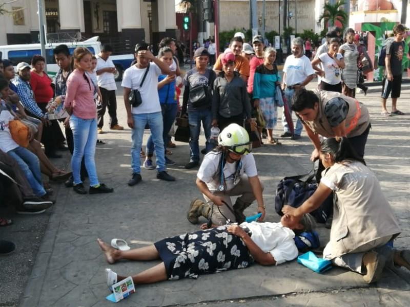Enfrentamiento entre policía y comuneros en Tapachula