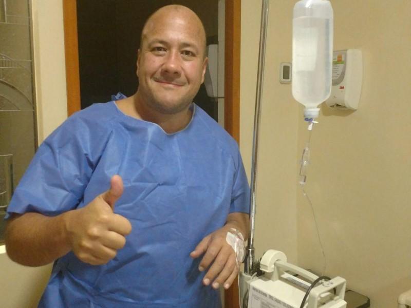 Enrique Alfaro es sometido a cirugía
