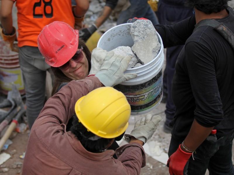 Entidades afectadas por sismos continúan en reconstrucción