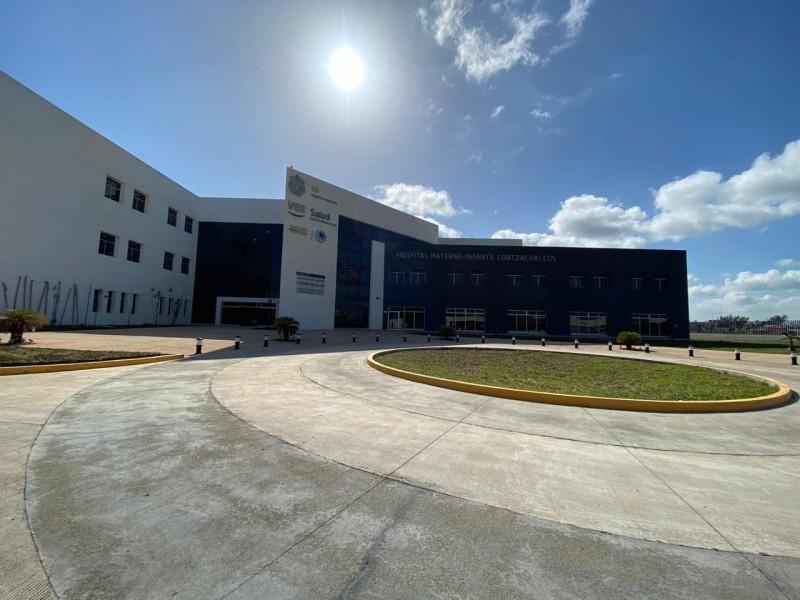 Entra en funciones Hospital Materno-Infantil de Coatzacoalcos para Covid-19