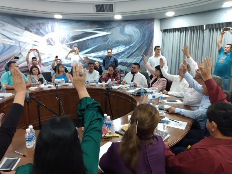 Entre disputa, regidores aprueban último trimestre 2019