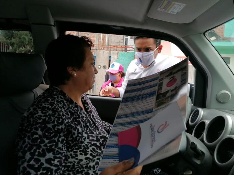 Entrega alcalde de Pedro Escobedo informe a ciudadanos