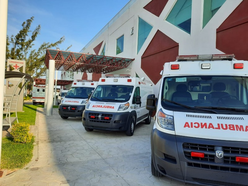 Entrega de Ambulancias en el Hospital de Juchitan