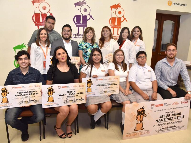 Entrega IHJ Premio Municipal a la Juventud