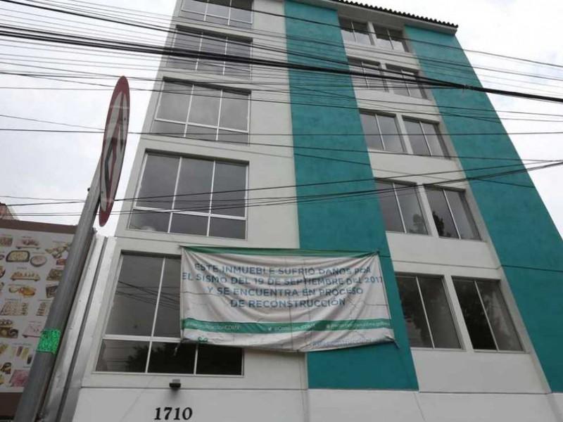 Entrega Sheinbaum edificios reconstruidos por sismo 19S