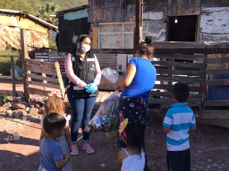 Entregan 2 mil 88 planes alimentarios en Guaymas